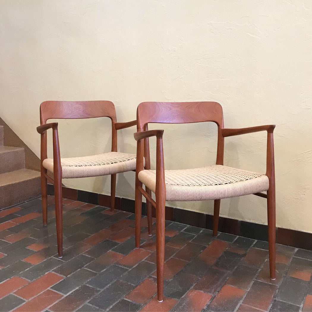 Niels O. Moller Armchairs *on hold*