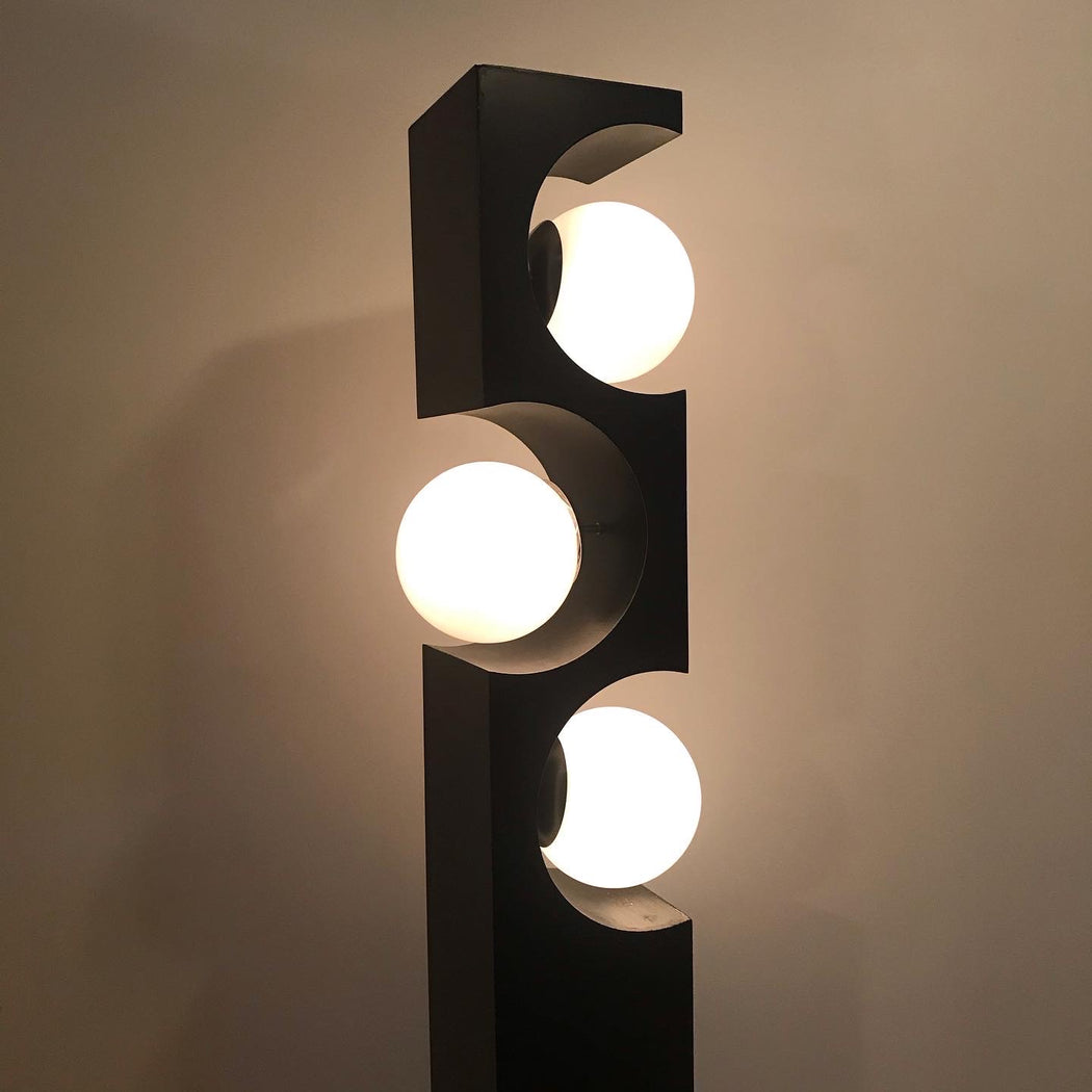 1970s Modeline Geometric Floor Lamp