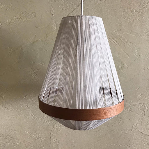 String + Teak Pendant Lamp *on hold*