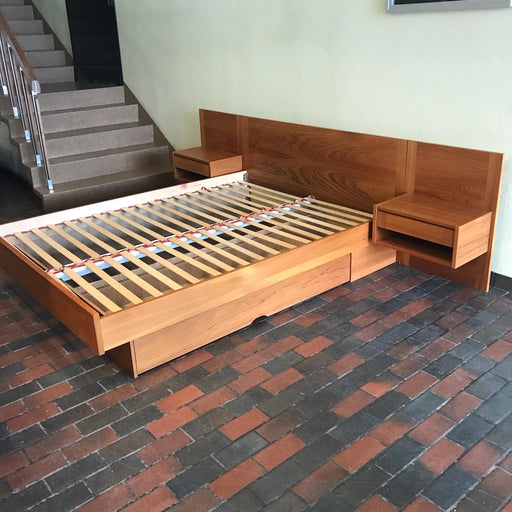 QUEEN Danish Teak Bed