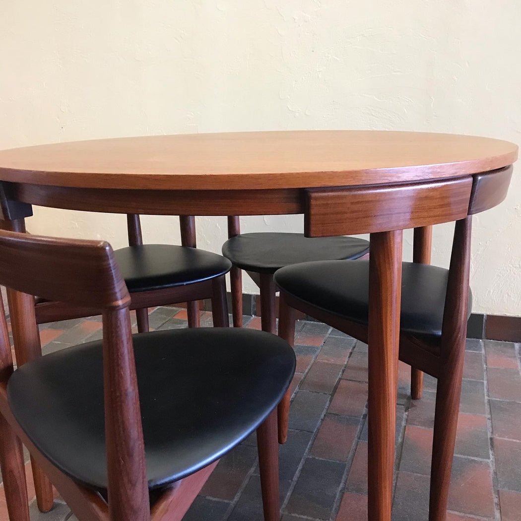 SOLD • Hans Olsen Roundette Dining Set