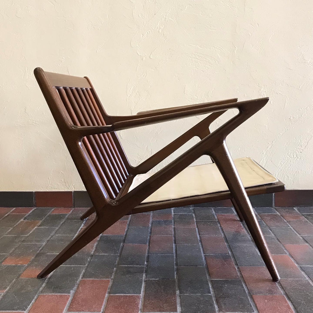 SOLD • Poul Jensen Z Chair for Selig
