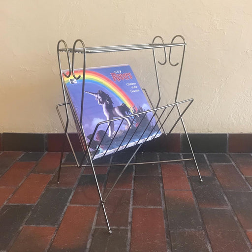 Record Magazine Rack