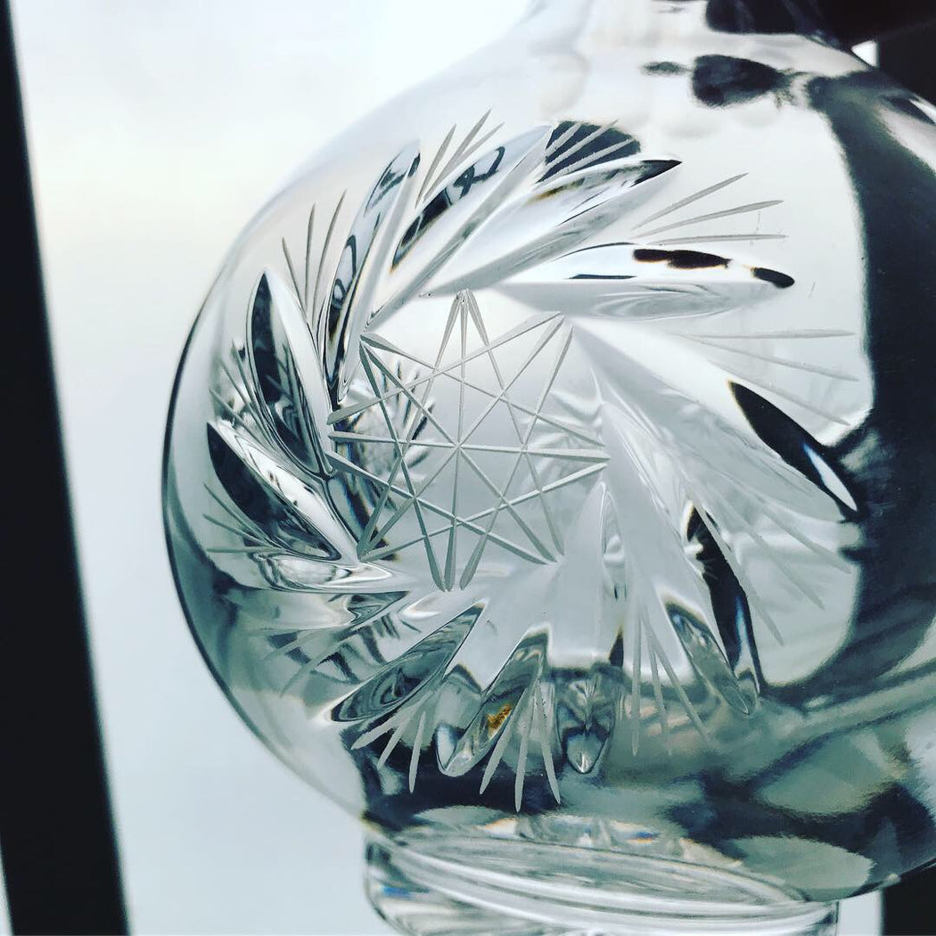 Round Crystal Decanter