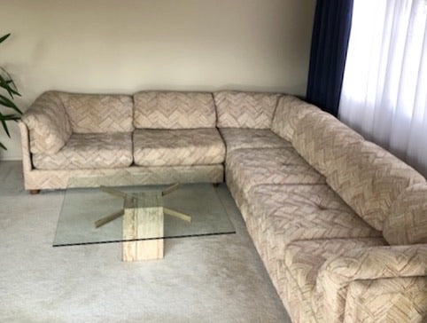 SALE: 70s Sectional Sofa