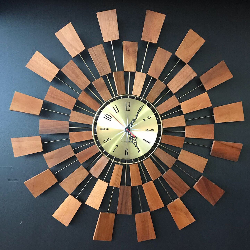 Sold • Westclox Starburst Clock