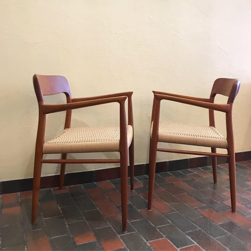 Niels O. Moller Armchairs