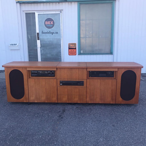 SALE: Teak Credenza Record Player *on hold*