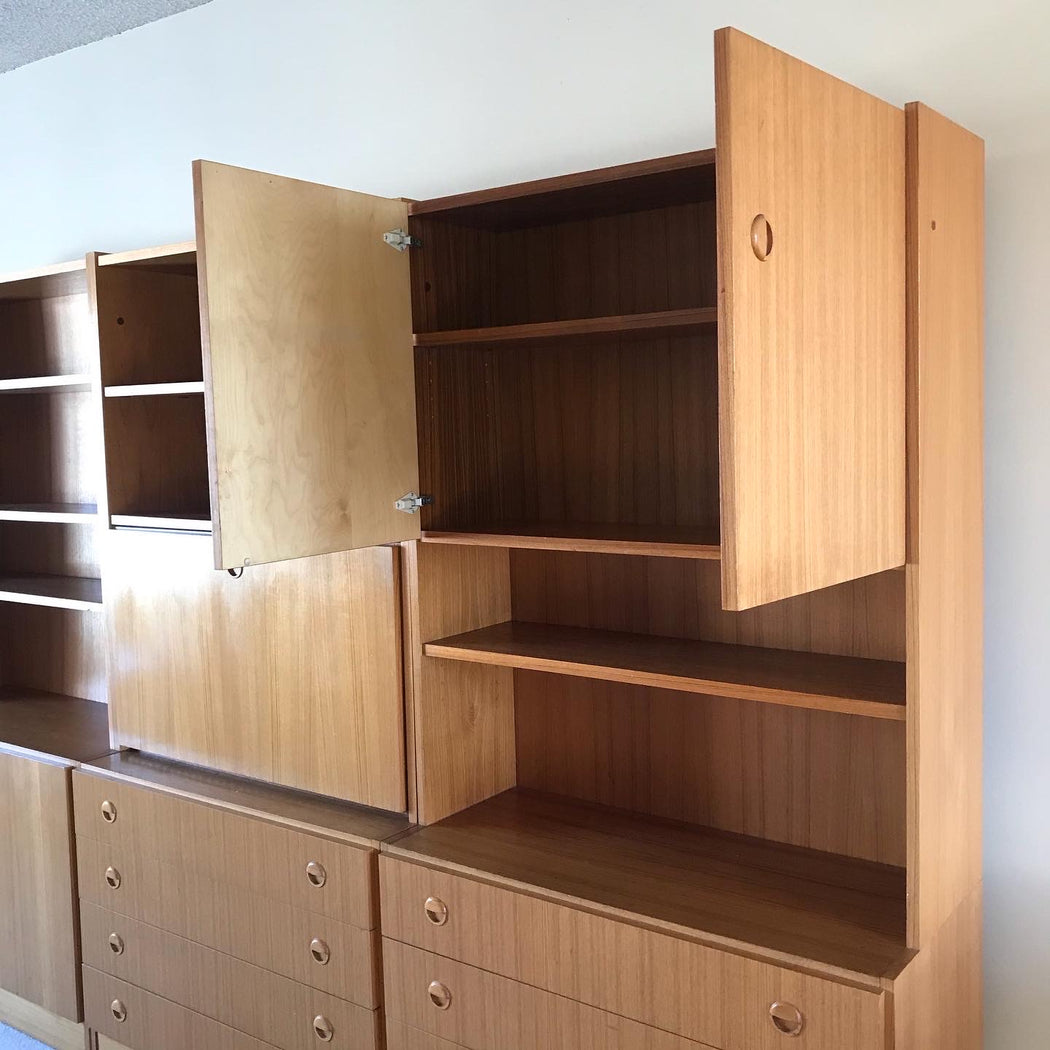 Made in Belgium Teak Wall Unit