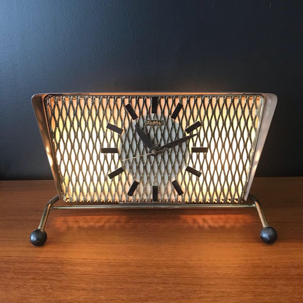 Atomic TV Lamp Clock *on hold*