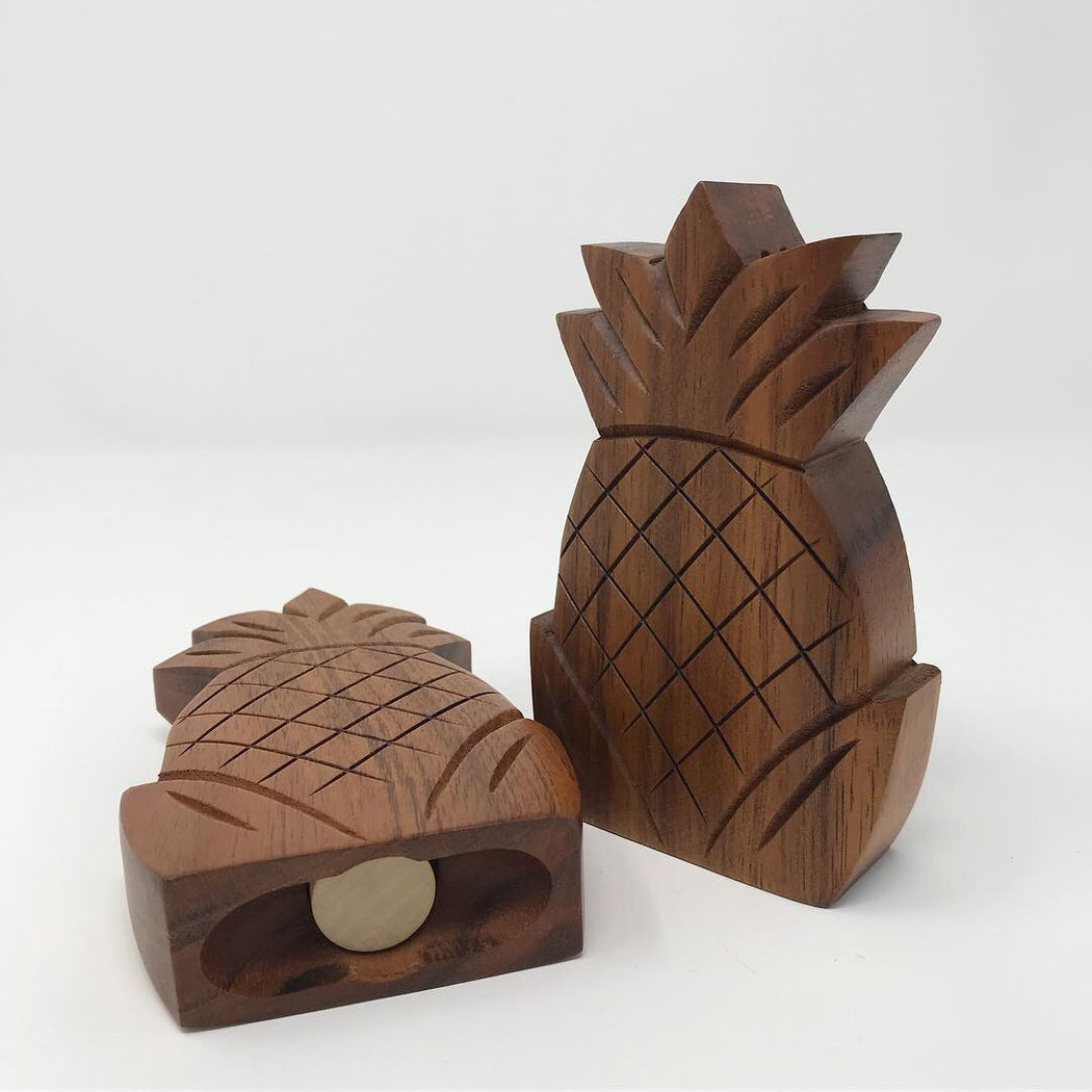Pineapple Salt & Pepper Shakers