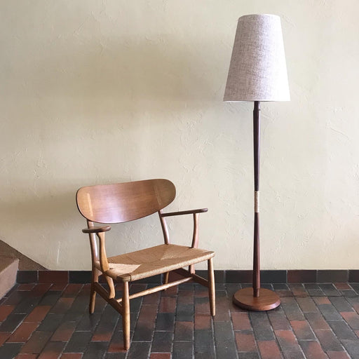 Midcentury Teak Floor Lamp *on hold*