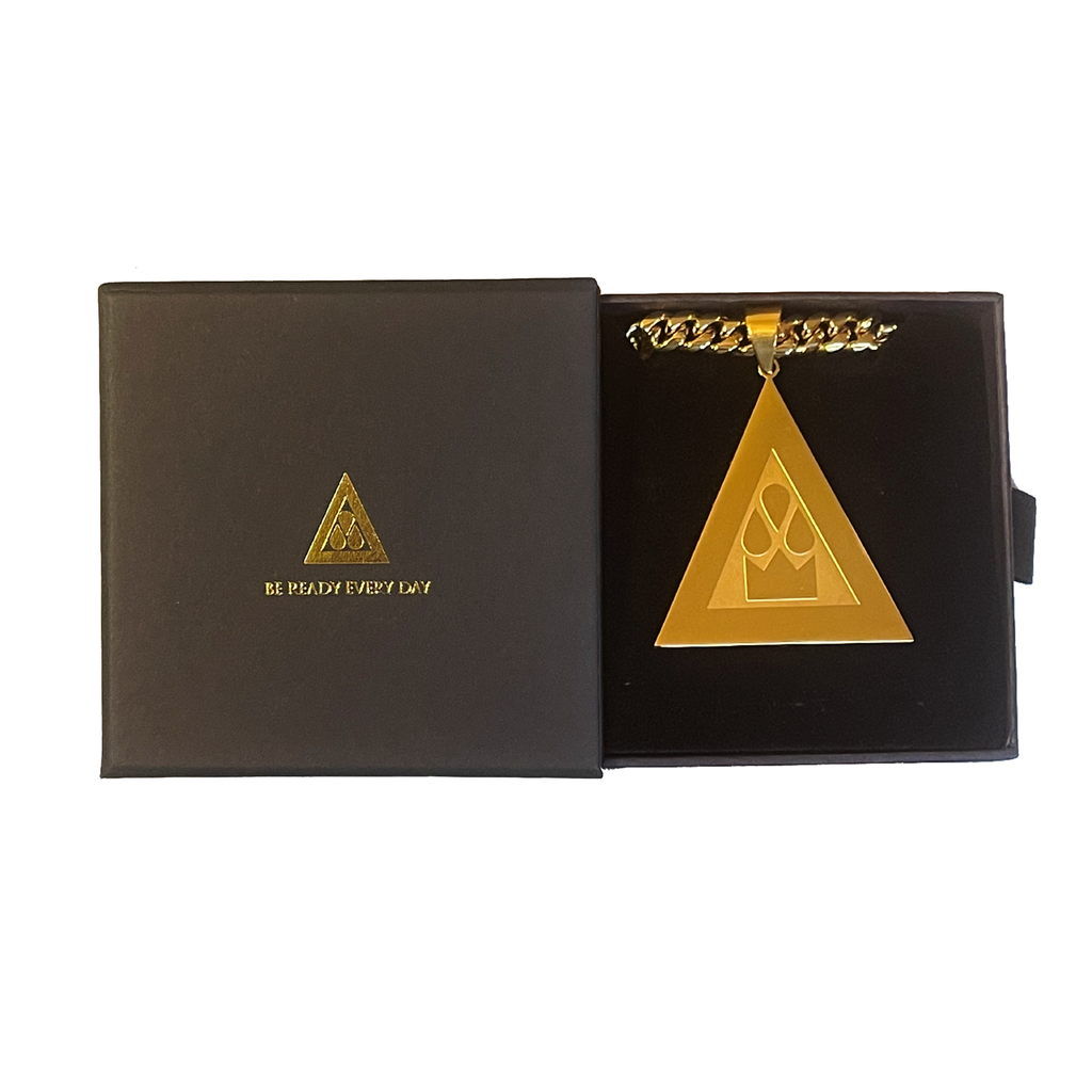 KING BRED Gold Pendant