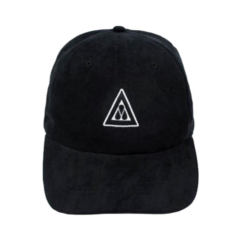Black Suede Dad Cap XVII
