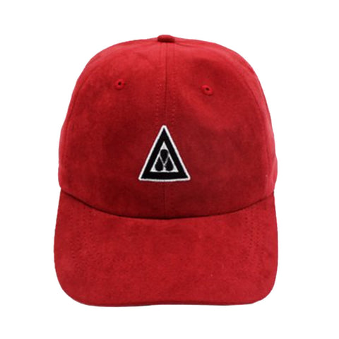 Red Suede Dad Cap XVII