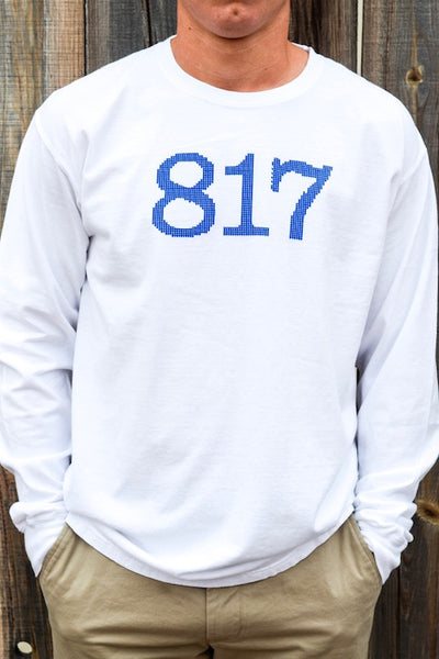 The 817 Needlepoint White LS