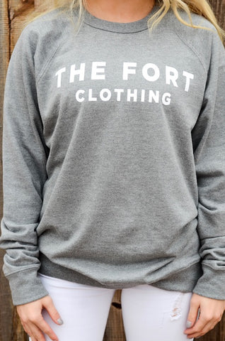 The Fort Graphite Sweatshirt
