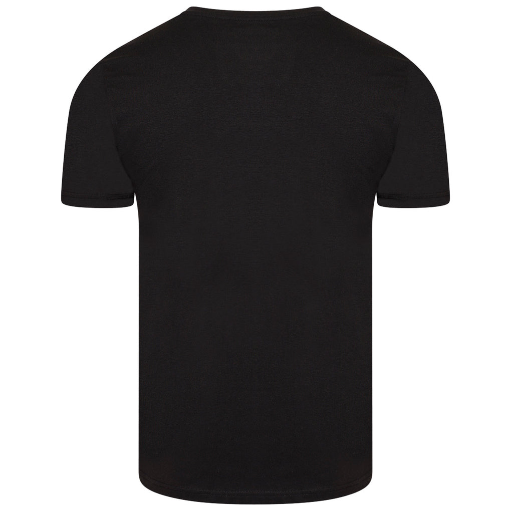 SOCIETE NOIR TEE | BLACK WHITE