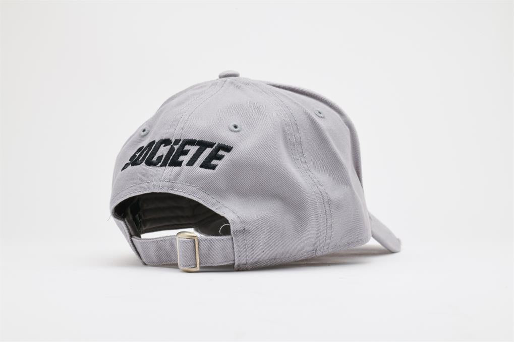 LA VITESSE DISTRESSED TRUCKER | GREY BLACK