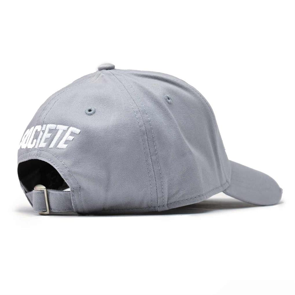 LA VITESSE DISTRESSED TRUCKER | GREY WHITE