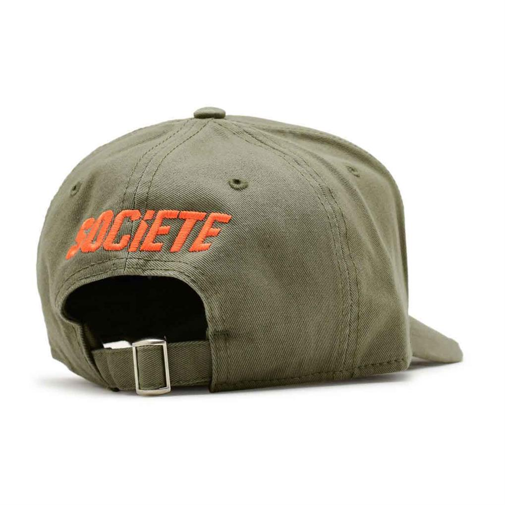 LA VITESSE DISTRESSED TRUCKER | KHAKI ORANGE