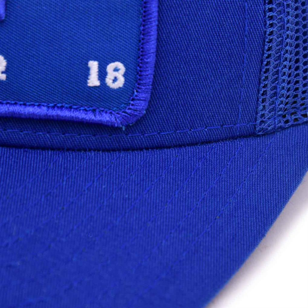 THE FUTURE IS MESH TRUCKER | ROYAL BLUE