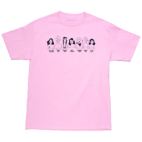 Seven Sisters T-shirt Pink