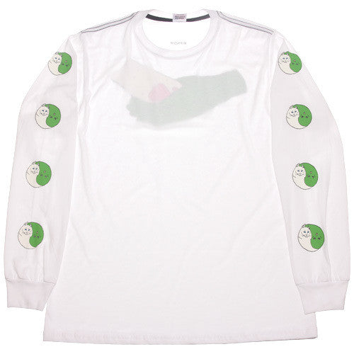 Nermal Yang Long Sleeve White