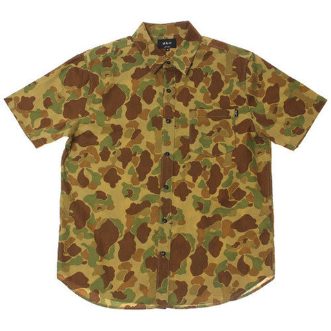 Duck Camo Button Down Shirt