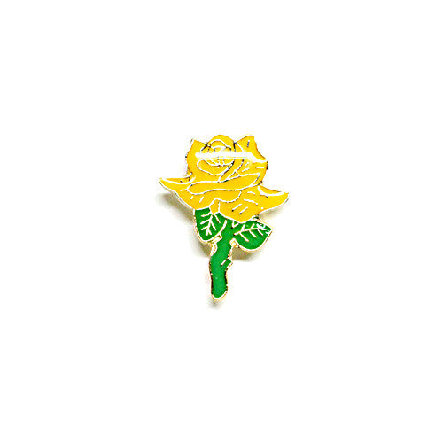 Yellow Rose Pin