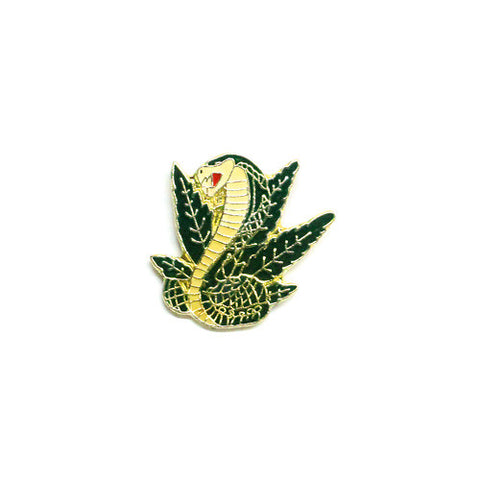Cobra Leaf Pin