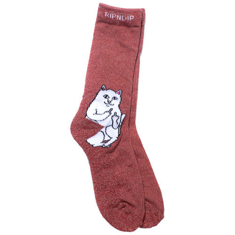 Lord Nermal Socks Red