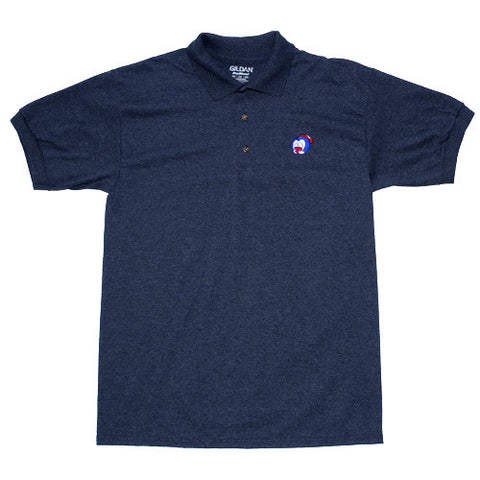 Big Face Polo Dark Heather