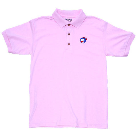 Big Face Polo Pink