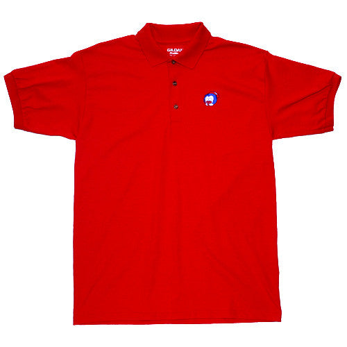 Big Face Polo Red