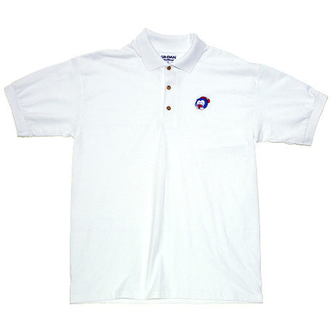 Big Face Polo White