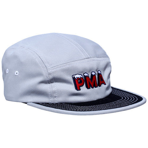 Icy 5 Panel Cap Grey