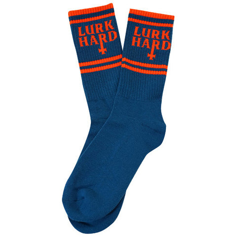 Flag Sock Blue Orange