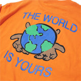 The World Is Yours T-shirt Orange