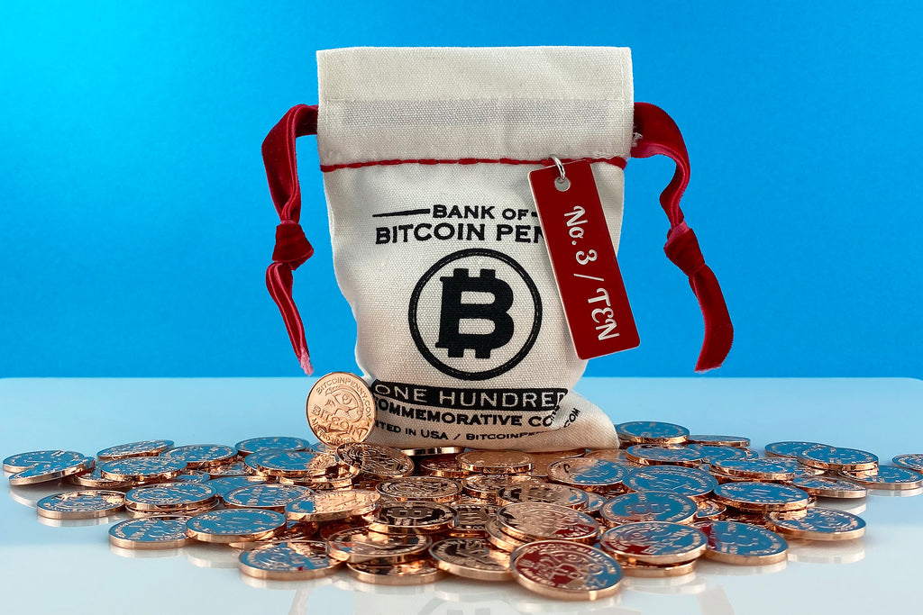 2020 Bitcoin Penny® Bank Bag