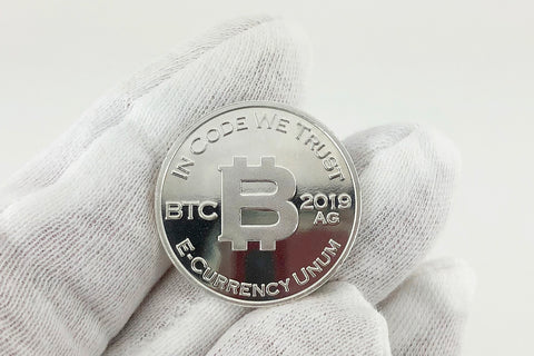 2019 Bitcoin Penny™ SILVER Commemorative Coin