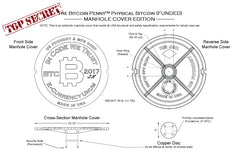 The MANHOLE COVER Physical Bitcoin