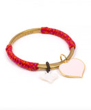 Bangle Twisted Rose Love en Aprilis Online