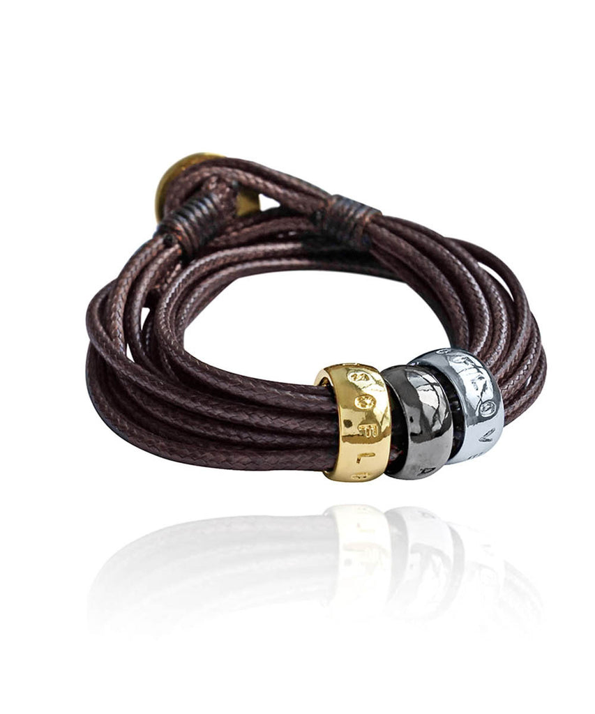 Pulsera Lots of Love Chocolate en Aprilis Online