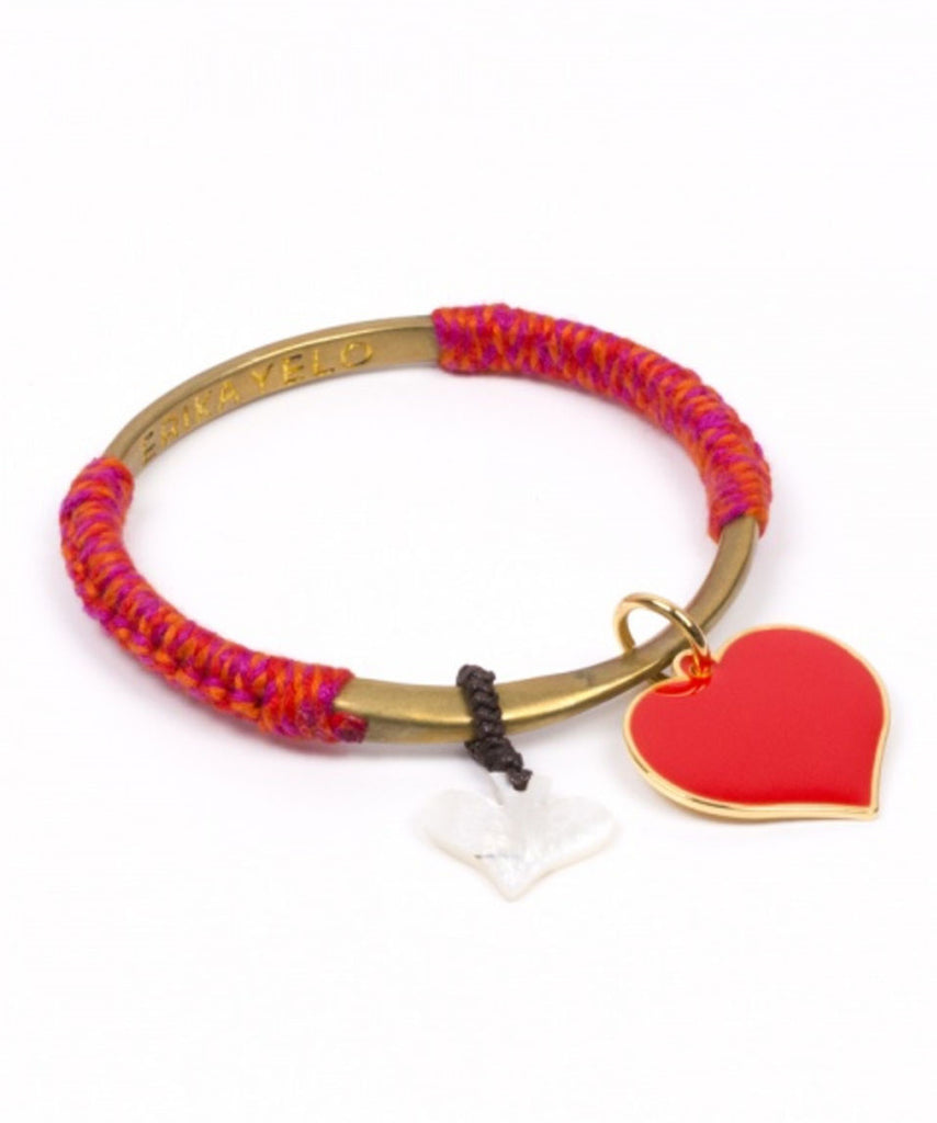 Bangle Twisted Red Love en Aprilis Online