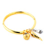 Bangle Twisted Amulette en Aprilis Online