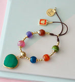Pulsera Ágatas Colorful