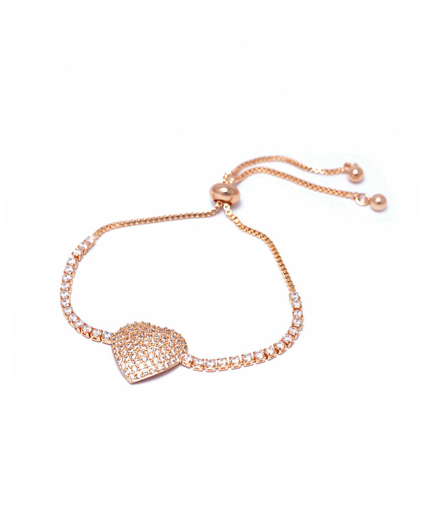 PULSERITA SPARKLING HEART ROSE GOLD