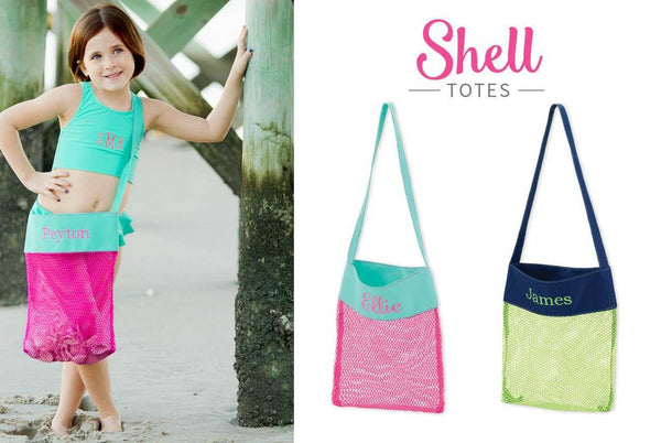 Green Shell Tote