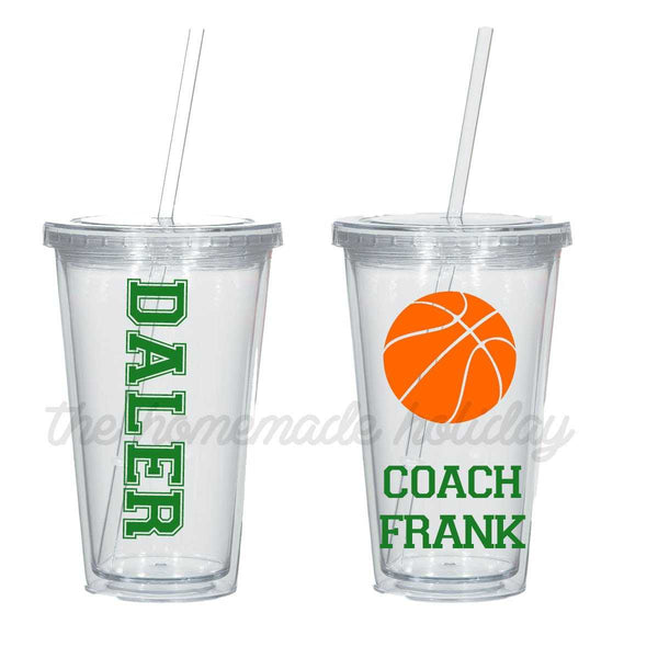 Basketball Coach Insulated Tumbler